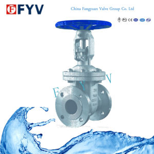 API 6D Flanged Wedge Gate Valve Stainless Steel pictures & photos