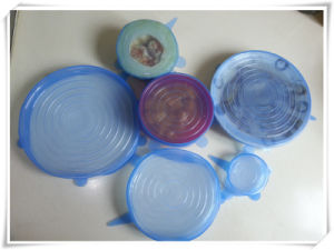 Food Grade Silicone Lids (VR15003) pictures & photos