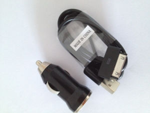 Car Charger &USB Data Cable for iPhone 4 4s 3G pictures & photos
