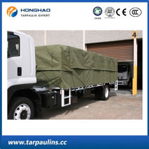 High Quality Camo Waterproof Canvas Tarpaulin for Truck Cover pictures & photos