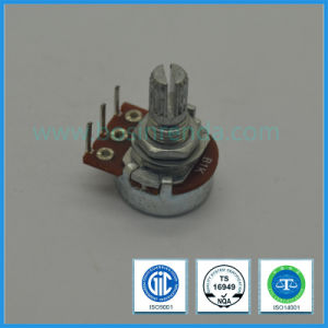 16mm Rotary Potentiometer Single Gang for Audio Equipment pictures & photos