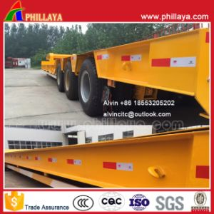 3-Line-6-Axle Heavy Duty Low Loader Lowboy Semi Truck Trailer 100ton pictures & photos