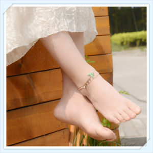 New Design Green Color Epoxy Butterfly Point Fashion Jewellery Anklet pictures & photos