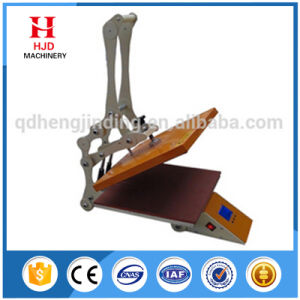 Ce Certificate Manual T Shirt Heat Press Transfer Machine pictures & photos