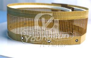Teflon PTFE Glassfiber Open Mesh Conveyor Belt pictures & photos
