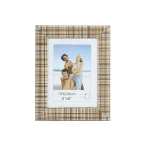 Photo Frame with Cloth /Wooden Imitation Item (1233-1)