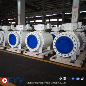 API Flanged Trunnion Mounted Ball Valve pictures & photos