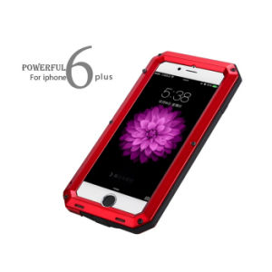 Powerful Metal Sillicone Three Proofing Case for iPhone 6 Plus Mobile Phone pictures & photos