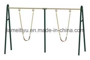 Professional Outdoor Fitness Equipment Twin Swings pictures & photos