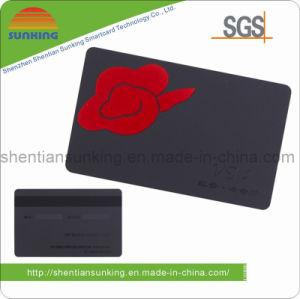 Velvet Plastic Business Card with Magnetic Stripe/Signature Panel (SK-M02)