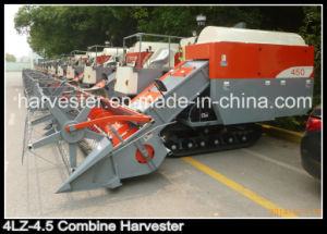 83kw 2.4m Cutting Width Crawler Grain Harvester pictures & photos