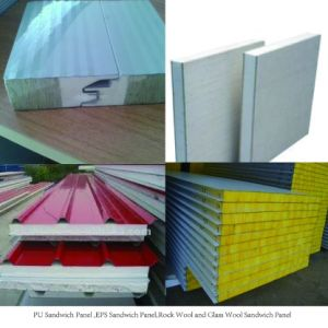 New Material Energy-Saving Insulated Sandwich Panel pictures & photos