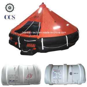 Davit Launching Raft Boat for 20 People (D20) pictures & photos