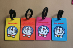 2017 Customized Fancy Travel PVC Luggage Tag pictures & photos