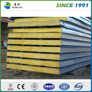 Good Quality New Design Building Material Roof Rock Wool Sandwich Panel pictures & photos