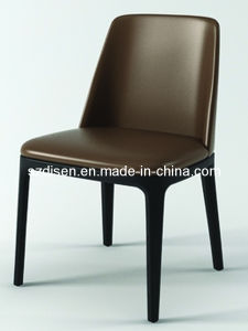 High Quality Elegant Fabric Leather Wood Hotel Restaurant Chair pictures & photos