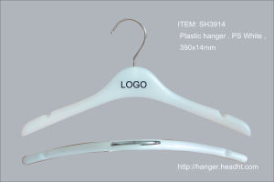 Simple Regular Plastic Clothes Coat Hangers for Display pictures & photos