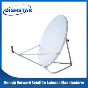 Ku Band 80cm Satellite Dish Antenna with Grount Mount Base