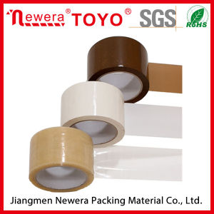 Brown BOPP Adhesive Packing Tape for Carton Sealing Low Noise pictures & photos