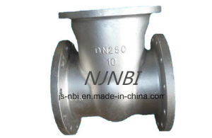 Stainless Steel Dn250 Swing Check Valve pictures & photos