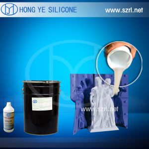Liquid Cheap RTV 2 Silicone Rubber for Casting Gypsum Statues with High Duplication Times pictures & photos
