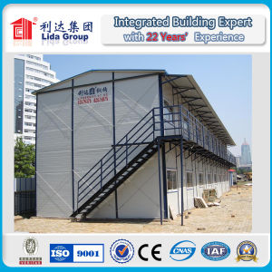 Waterproof and Fireproof Standard Labor Prefab House pictures & photos