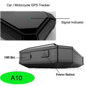 Motorcycle/Car Vehicle GPS Tracker with Large Battery Capacity A10 pictures & photos