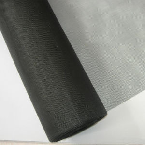 PVC Coated Fibreglass Insect Mesh Netting Net, Fly Mosquito Screen 1m X 30m Grey pictures & photos