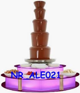 Acrylic LED Chocolate Fountain Base (NR_ALE021)