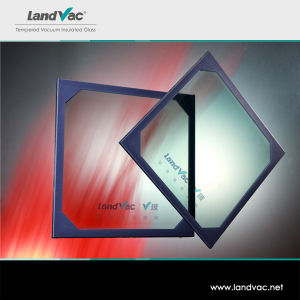 Landglass Interior Doors with Glass Inserts White Triple Glazing Vacuum Glass pictures & photos