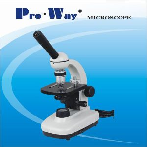 High Quality Monocular Education Biological Microscope (NK-PW100C) pictures & photos