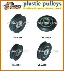 Door & Window Plastic Roller Pulley pictures & photos