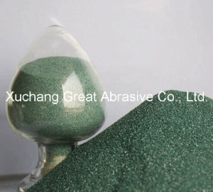 Green Silicon Carbide for Vitrified Bonded Grinding Wheels F36