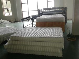 Euro Top Style Plush Top Thick Comfortable Spring Mattress pictures & photos