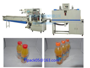 Horizontal Automatic Drink Bottles Shrink Flow Packaging Machine pictures & photos