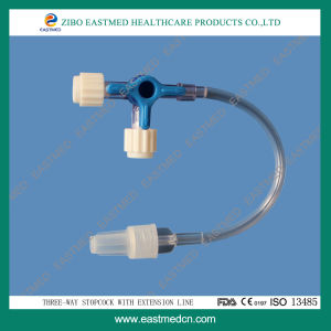 High Quality Three-Way Stopcok with Extension Line pictures & photos