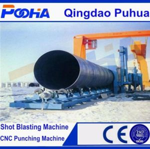 Special Roller Steel Pipe Outer Wall Shot Blasting Machine pictures & photos