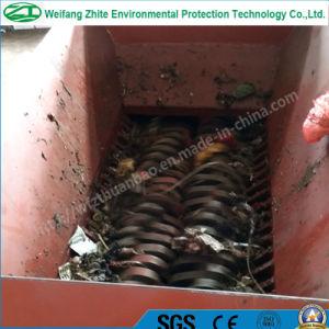 Automobile Car Tire/Plastic/Wood/Foam/Kitchen Waste/Municipal Waste/Animal Bone Shredder Supplier pictures & photos