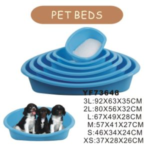 Cheap Waterproof Plastic Dog Beds (YF73648) pictures & photos
