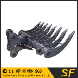 320d Custom Fabrication Excavator Parts Root Rake Bucket Excavator Rake pictures & photos