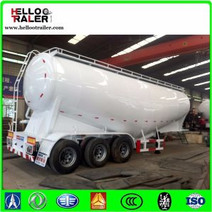 Three Axle 40 Ton Bulk Cement Trailer / Cement Powder Trailer for Cement Transport pictures & photos