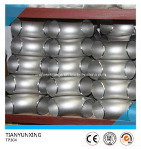 Seamless Butt Weld Fittings TP304 Stainless Steel Elbow pictures & photos