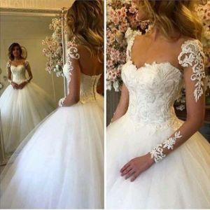 2017 Fashionable White Sexy Luxurious Wedding Dresses for Brides with Spaghetti Straps Backless Appliqued Crystals Tulle (MN1480)