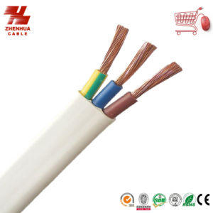 Flexible Flat Cable 450/750V Professional Supplier PVC Insulated Flexible PVC Flat Cable pictures & photos