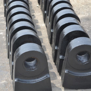 Terex Crusher Part High Manganese Hammer