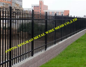 1800mmx2400mm Heavy Duty Black Powder Garrison Security Fencing (XMS19) pictures & photos