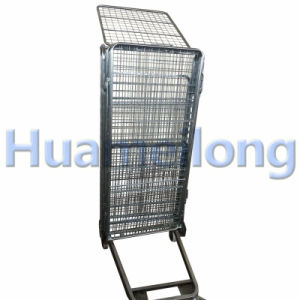 Warehouse Storage Folding Metal Security Roll Container pictures & photos