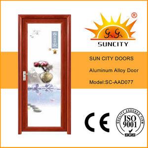 Modern Bathroom Type Aluminum Door Designs (SC-AAD012) pictures & photos