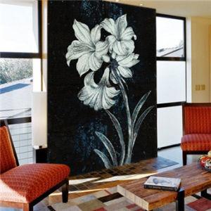 2014 Latest Design Stylish Glass Mosaic Picture Wallpaper