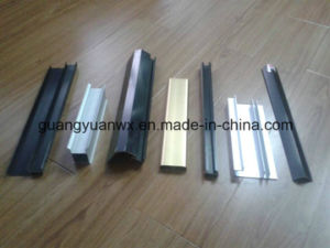 Powder Coated Paint Aluminum Extruded Profile for Windows and Doors pictures & photos